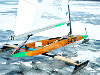 Jan 17 2015 - Vermont Ice Yacht Racing -  007
