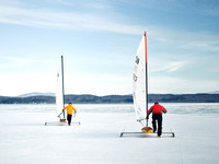 Jan 17 2015 - Vermont Ice Yacht Racing -  014